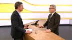Video «Studiogespräch: Hansjürg Dolder vom Amt für Wirtschaft und Arbeit Basel-Stadt» abspielen