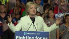 Video «Hillary Clinton: «Wir werden Amerika gross machen» (englisch)» abspielen