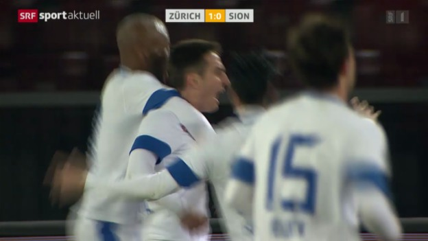 Video «Fussball: Super League, FCZ - Sion» abspielen