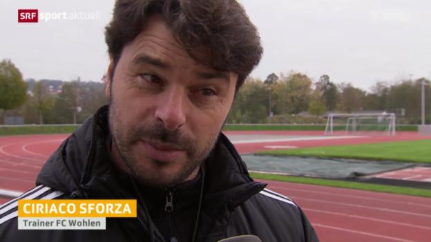 Video «Besuch beim FC Wohlen vor dem Cup-Hit gegen den FCB» abspielen