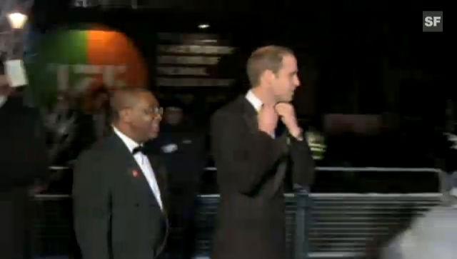 Prinz William schweigt bei erstem öffentlichen Auftritt nach der Baby-Neuigkeit (unkomm.)