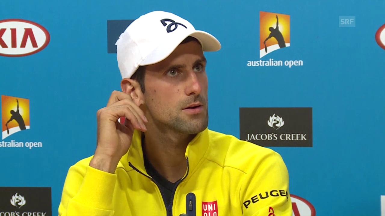 Djokovic äusserst sich an den Australian Open zu Manipulationsvorwürfen