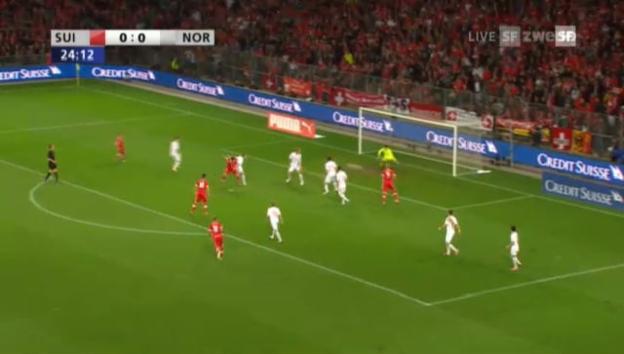Video «Schweiz - Norwegen: Highlights» abspielen