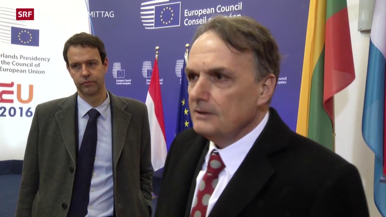 Ausweitung der Personenfreizügigkeit auf Kroatien