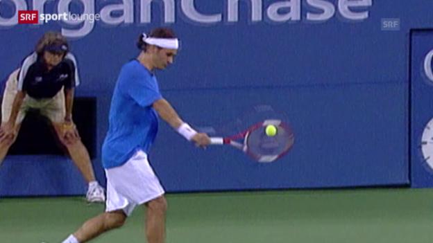 Video «Das Geheimnis hinter Federers Fitness» abspielen