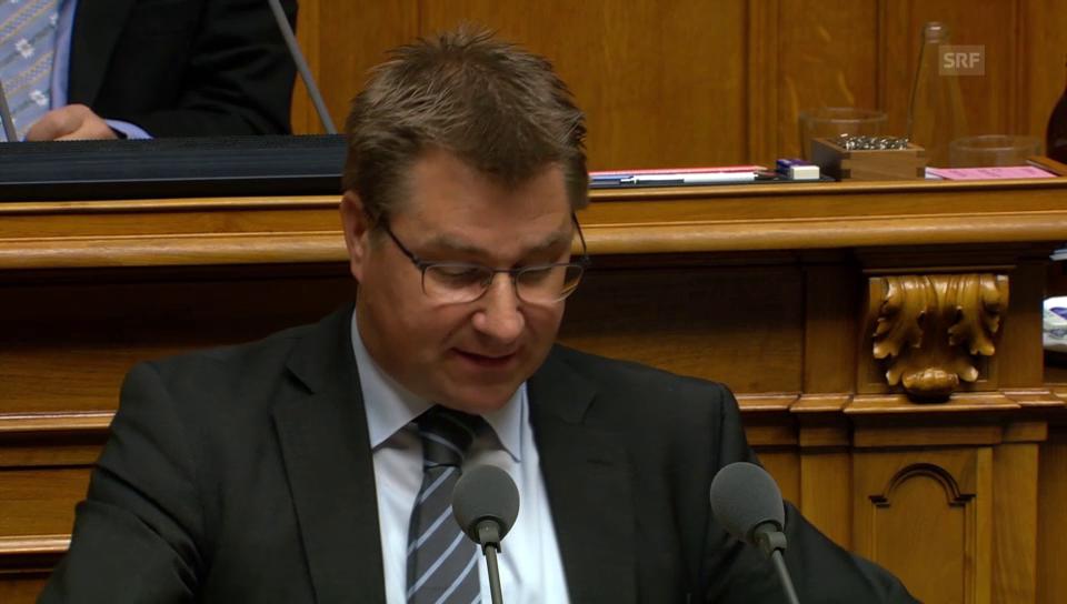 Toni Brunner (SVP/SG) gegen Rülpsverbot