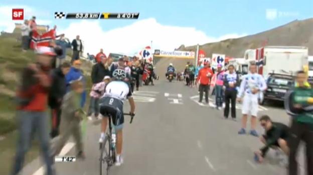 Video «Tour de France: 18. Etappe» abspielen