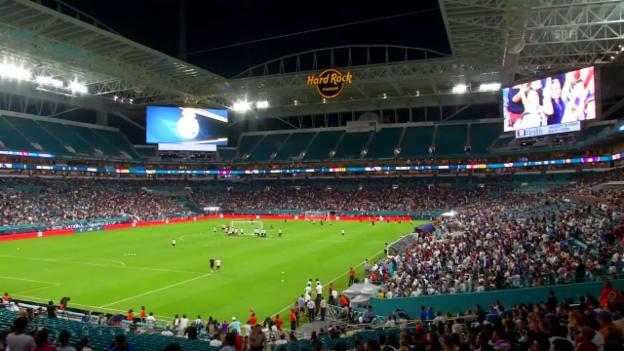 Video «Impressionen aus den Abschlusstrainings vor dem «Clasico» in Miami» abspielen