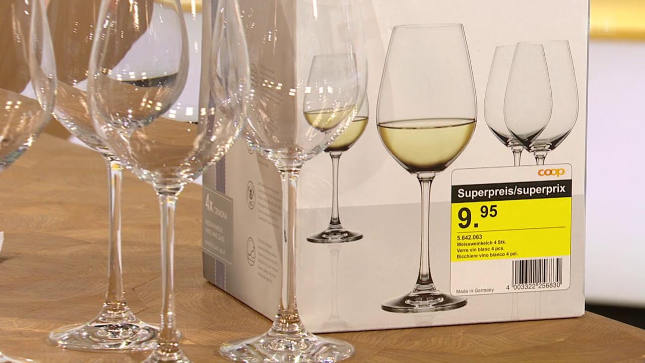Coops Trophy-Gläser plötzlich viel billiger