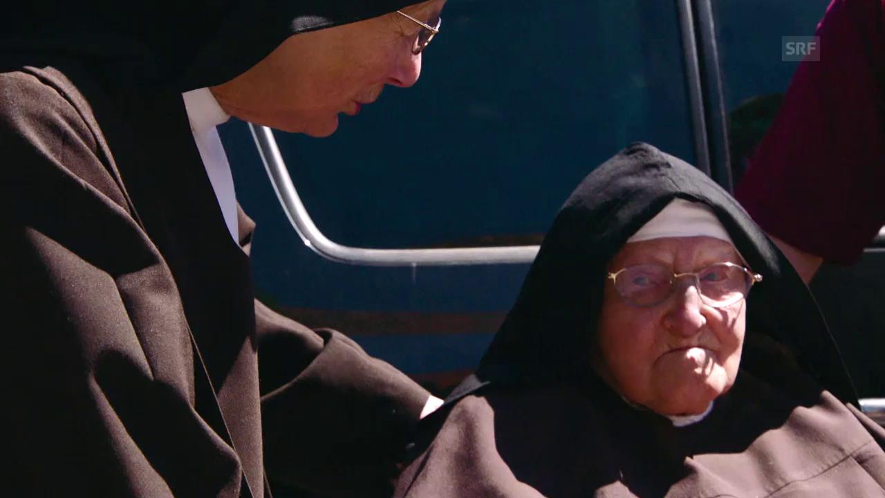 Schwester Meinrada kehrt zurück nach Notkersegg