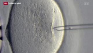 Video «Bundesrat und Ständerat wollen Präimplantations-Diagnostik PID» abspielen