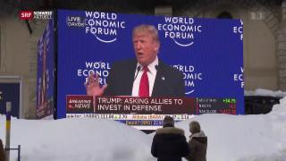 Video «Ausnahmezustand in Davos» abspielen