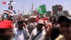 Video «Demonstranten stürmen Sitz der Muslimbruderschaft» abspielen