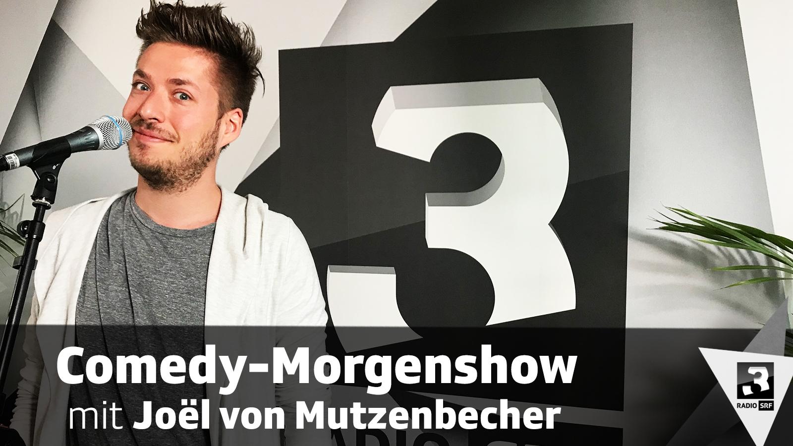 Comedy-Morgenshow mit Joël von Mutzenbecher