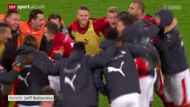 Video «Fusball: EURO-Quali, Schweiz - San Marino» abspielen