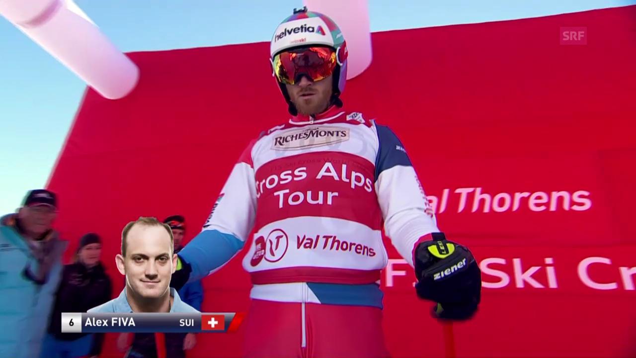 Überlegener Sieg von Alex Fiva