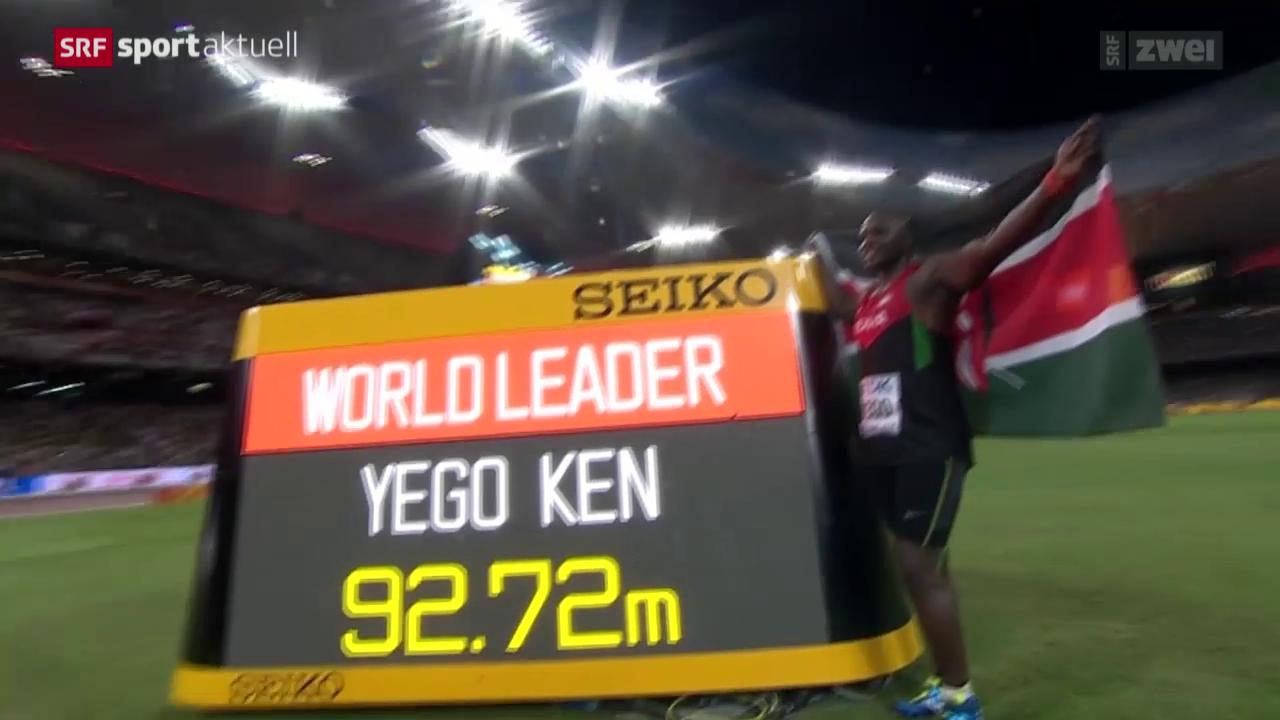 Leichtathletik: Die Finals der WM in Peking