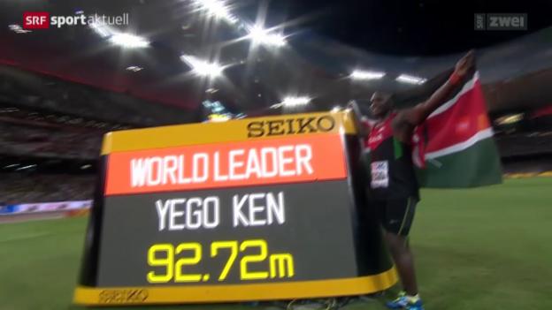 Video «Leichtathletik: Die Finals der WM in Peking» abspielen