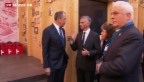 Video «Burkhalter trifft Lawrow in Sotschi» abspielen