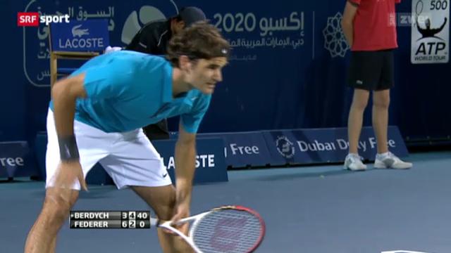 Tennis: Federer - Berdych