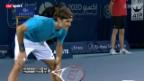 Video «Tennis: Federer - Berdych» abspielen