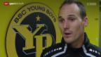 Video «Fussball: Die rekonvaleszenten Wölfli und Von Bergen» abspielen