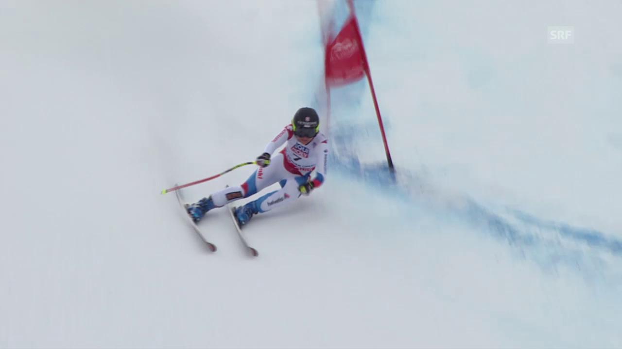 Ski Alpin: WM 2015 Vail/Beaver Creek, Super-G Frauen, die Fahrt von Fabienne Suter