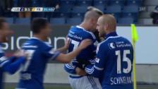 Video «Luzern zaubert: Vom 0:1 zum 3:1 in 8 Minuten» abspielen