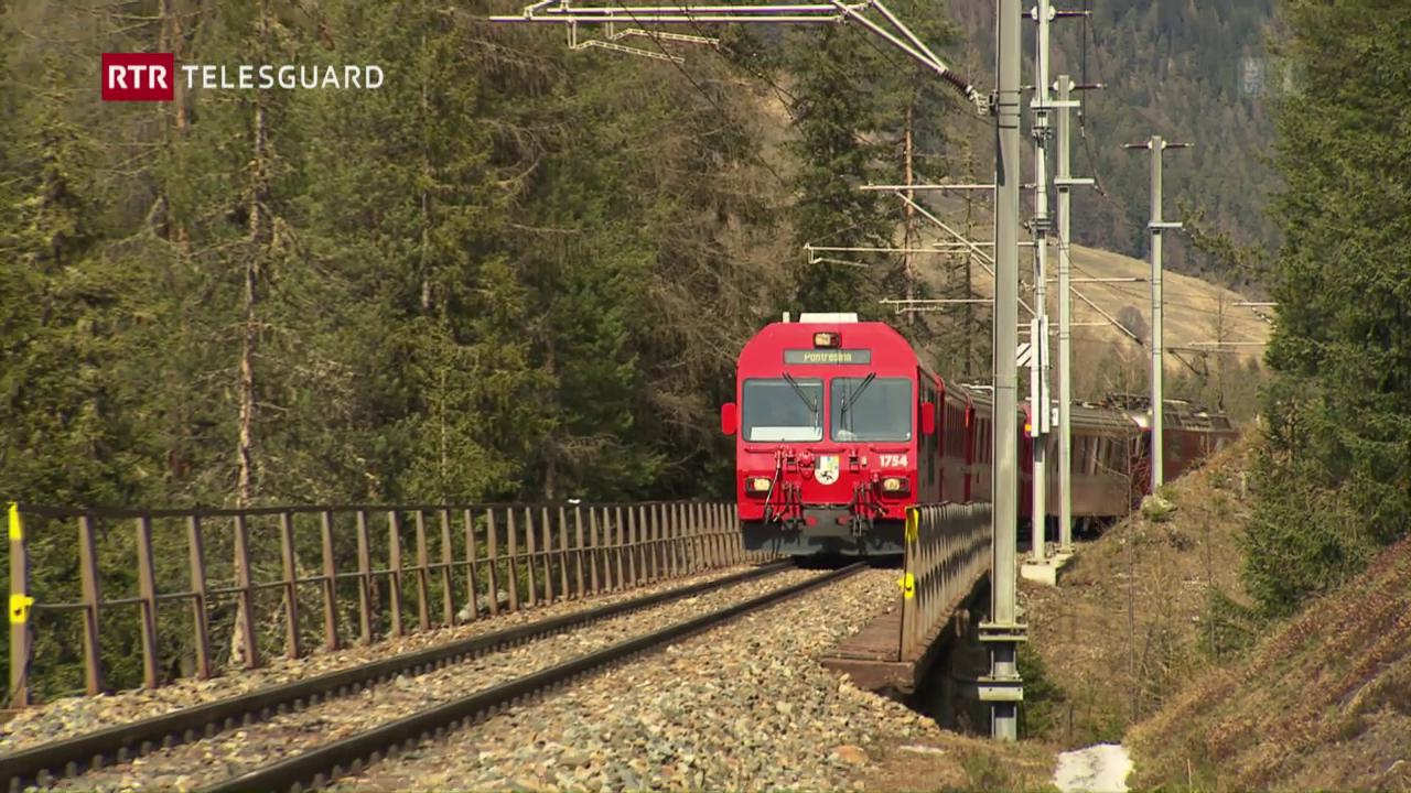 Urs vegn sut il tren
