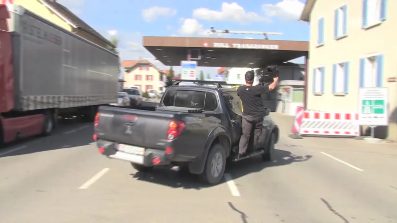 «SRF bi de Lüt – Wunderland»: Dreh am Grenzübergang