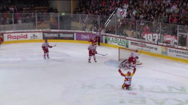 Video «Eishockey: SCL Tigers - Lausanne» abspielen
