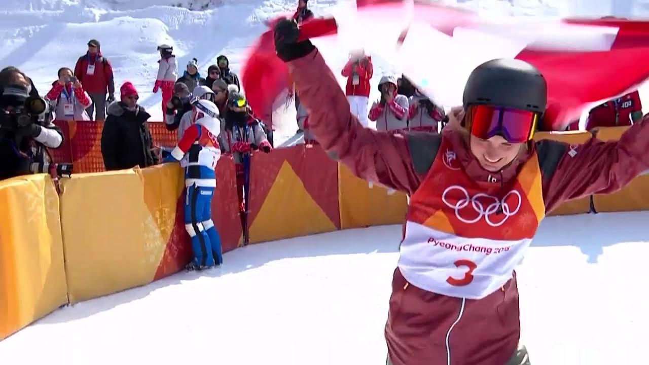 Kanadierin Sharpe holt Halfpipe-Gold