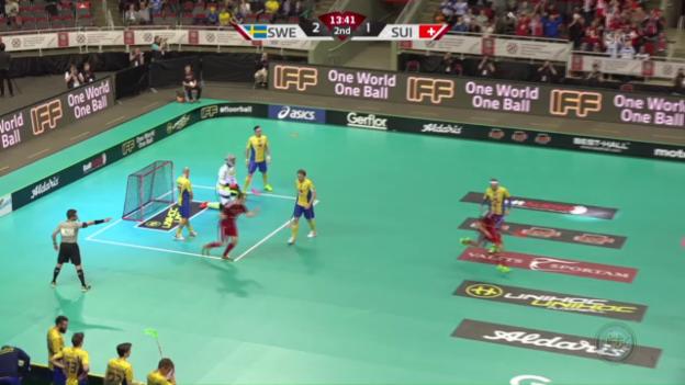 Video «Die Schweiz gegen Schweden ohne Chance» abspielen