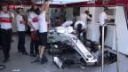 Video «Sauber vor dem GP in Spanien» abspielen