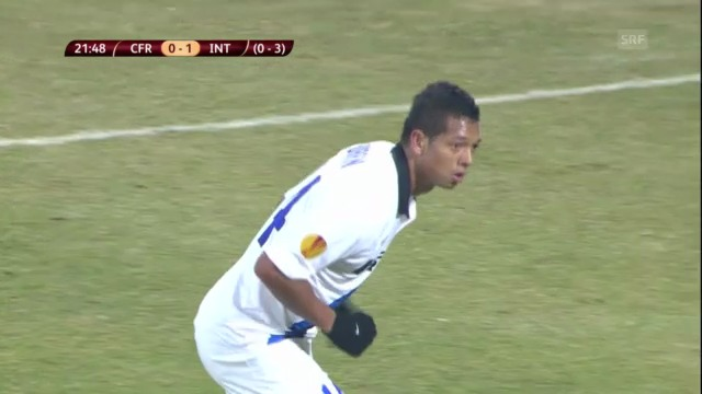 Fussball: Cluj-Inter