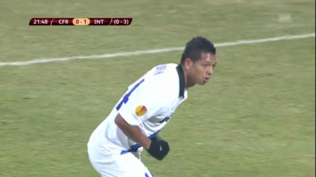 Video «Fussball: Cluj-Inter» abspielen