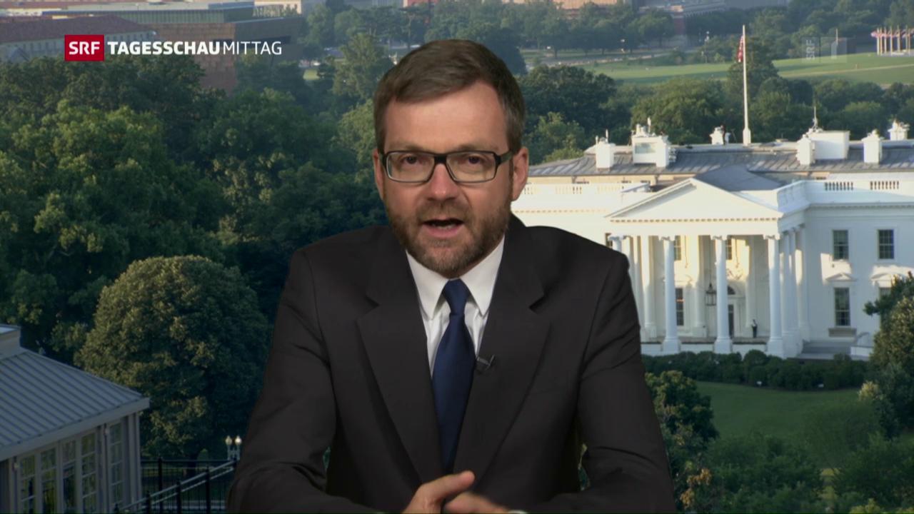 SRF-Korrespondent Peter Düggeli zum Geschehen in Dallas