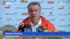 Video «Fussball: Vor Tunesien - Schweiz» abspielen