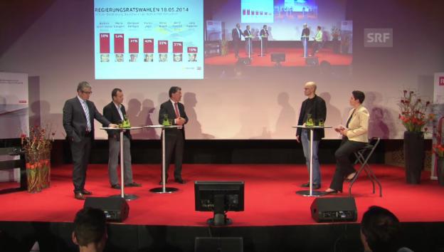Video «Die neuen Kandidaten im Gespräch» abspielen
