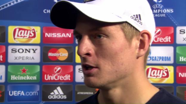 Video «Interview mit Toni Kroos» abspielen