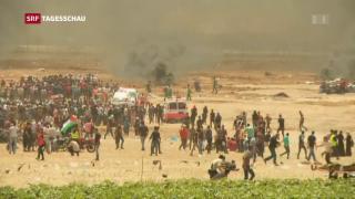 Video «Nach Ausschreitungen in Gaza» abspielen