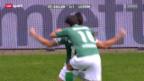 Video «Fussball: St. Gallen - Luzern» abspielen