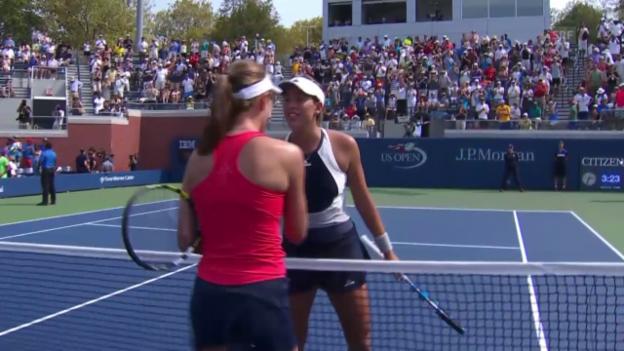 Video «Tennis: US Open, 2. Runde, Matchball Konta» abspielen