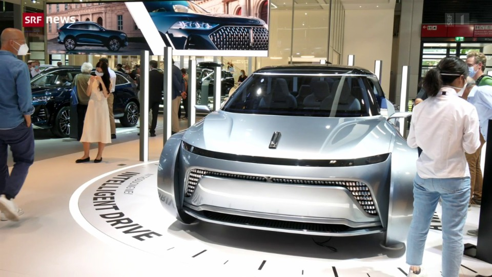 Internationale Auto-Ausstellung IAA: Ganz im Zeichen von Elektro