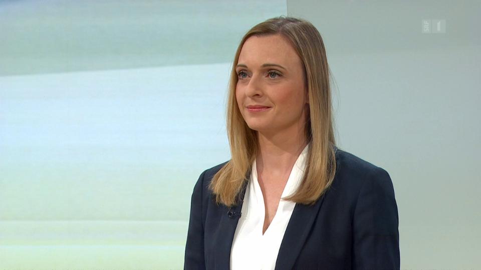 Fachärztin für Ohren-Nasen-Hals Nicole Peter beantwortete Fragen aus dem Publikum