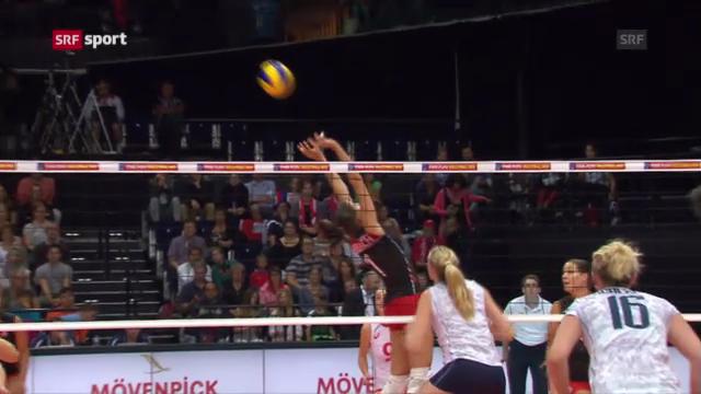 Schweizer Volleyballerinnen unterliegen Frankreich («sportpanorama»)