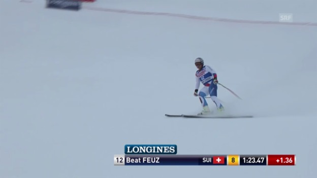 Video «Die Fahrt von Beat Feuz» abspielen