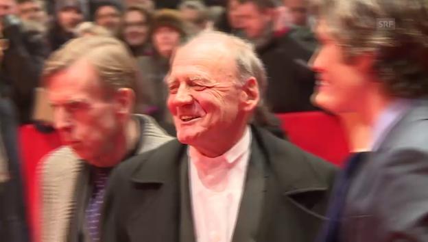 Video «Bruno Ganz an der Berlinale 2017» abspielen