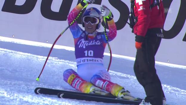 Video «Ski Alpin: Abfahrt Val d'Isère, die Fahrt von Lindsey Vonn («sportlive», 21.12.2013)» abspielen