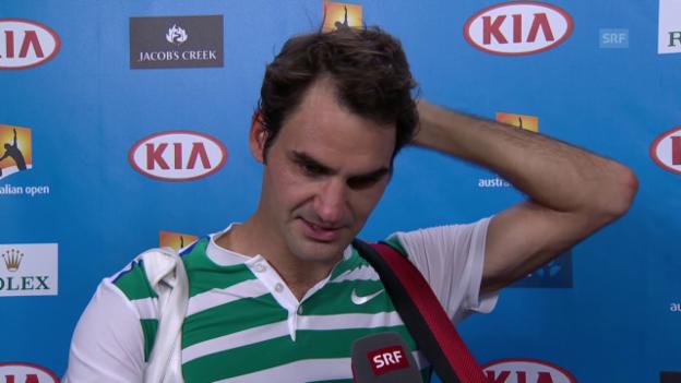 Video «Federer: «Muss genug Variation in meinem Spiel haben»» abspielen